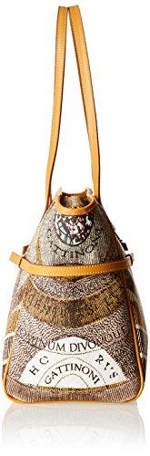 GATTINONI Gacpu0006163, sac bandoulière Beige (Deserto)