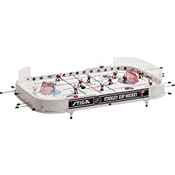 STIGA Hockey sur Table NHL Stanley Cup Jeu de Table Detroit Red Wings/Toronto Maple Leafs