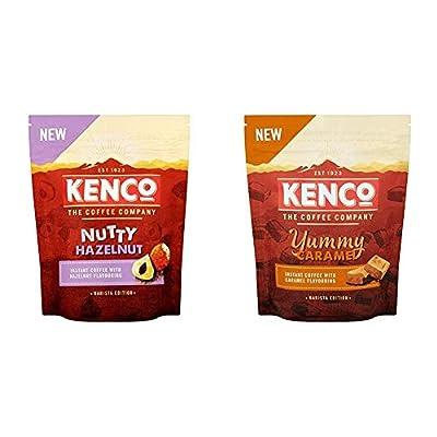 Kenco Barista Edition Nutty Hazelnut Instant Coffee, 66 g, Pack of 6
