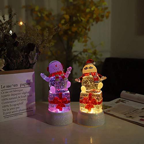 halts-Schreibtischlampe, LED-Nachtlicht Santa Claus Mood Light Kreatives elektronisches Produkt, das Nachttischlampe lernt ()