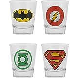 GB Eye LTD, DC Comics, Logos, 20 ml Verre à shot