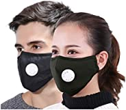Xtore® N95 Ultra Comfortable Anti Pollution Mask | Breathing Valve | Premium Quality - (Pack of 1 mask, 2 filt