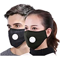 Xtore® N95 ultra comfortable Anti Pollution Mask | Breathing Valve | Premium Quality - (4 mask, 8 filters))