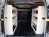 Vanify se Adapta a Ford Transit Custom SWB OS & NS Ligero Van Plywood Estantería - Van Accesorios para Ford Transit Custom - Sistema de Estante para Furgoneta - Estantería y Almacenamiento