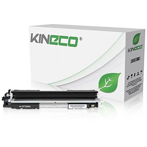 Preisvergleich Produktbild Kineco Toner kompatibel zu HP CF350A Color LaserJet Pro MFP M176n, M177fw, M170 Series - Schwarz 1.300 Seiten