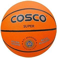 Cosco Super (M/C) Basket Ball, Size 6 (Orange)