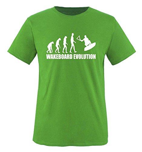 WAKEBOARD EVOLUTION - Kinder T-Shirt Grün 110-116
