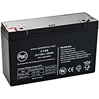 Batteria per Luce di emergenza Emergi-Lite 6100 6V 10Ah - Ricambio di marca AJC®