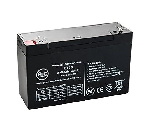Batterie Everest & Jennings 2145104700 6V 10Ah Fauteuil roulant - Ce produit est un article de remplacement de la marque AJC®