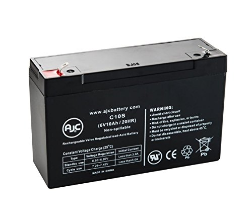 Batterie Medi-Man Rehab Products Patient Lift 62200 400 Lb. 6V 10Ah Médical...