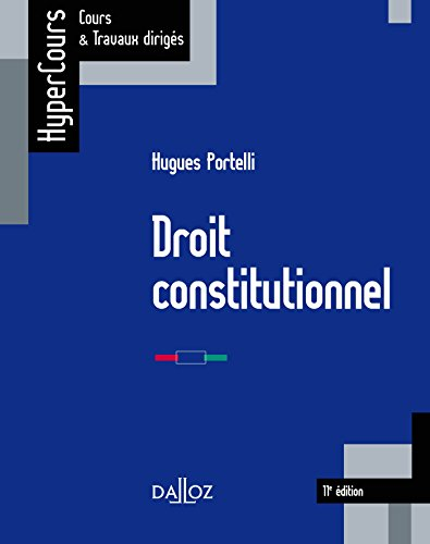 Droit constitutionnel - 11e éd.