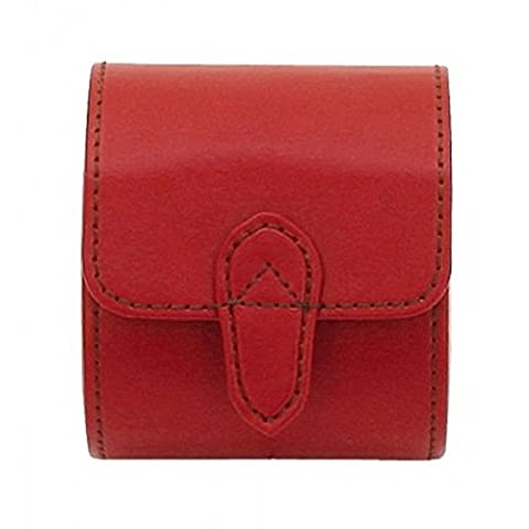 CORDOBA Clocks Role for 1 Hours Retention in Red Leather