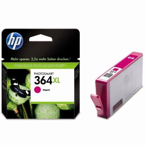 HP 364XL Rot Original Druckerpatrone mit hoher Reichweite für HP Deskjet, HP Officejet, HP Photosmart (Hp 7 Plus)
