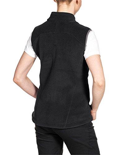 Jack wolfskin fleecweste winnipeg vest w Black