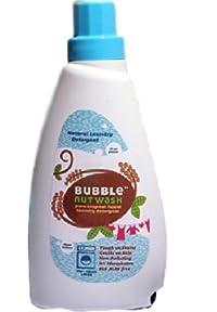 BubbleNut Wash Pure Soapnut Liquid – Natural Laundry Detergent