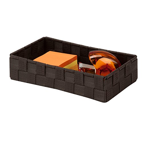 honey-can-do-ofc-03707-1025-by-55-by-235-inch-woven-organizer-small-espresso-brown-by-honey-can-do
