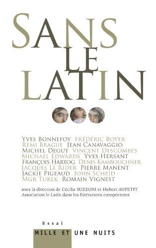 Sans le latin.