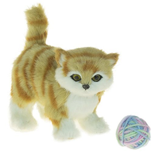 Awsom Pets! Adorable Tabby Cat, Accessories Fit 18 Inch American Girl Dolls, Perfect Friend For Your Doll