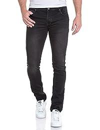 Deeluxe 74 - Jogg jean noir délavé slim