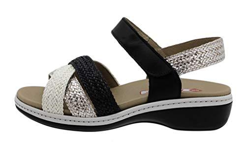 Zapato Cómodo Mujer Sandalia Plantilla Extraíble