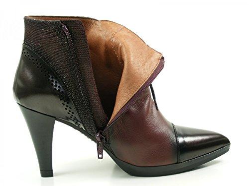 Hispanitas Eiffel HI63525 bottes & bottines femme Ankle Boots Rouge