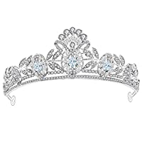 BIXINYAAN Crowns Tiara Hair Jewelry Not Only For Wedding Use, But Also Occasions Like Engagements And Parties