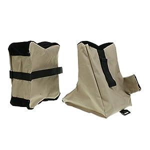 Magideal Waffen Auflage Set Vorderschaftauflage Hinterschaftauflage Gewehrauflage Waffenauflage Gute Verarbeitung Und Tragbar Fr Jagd Sport Tasche Ungefllt