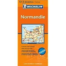Carte routière : Basse-Normandie, Haute-Normandie