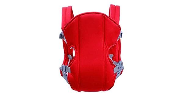 Nouveau-n/é respirant b/éb/é simple berceau sacoche porte-b/éb/é porte-b/éb/é confortable ceinture d/épaule r/églable couleur: rouge