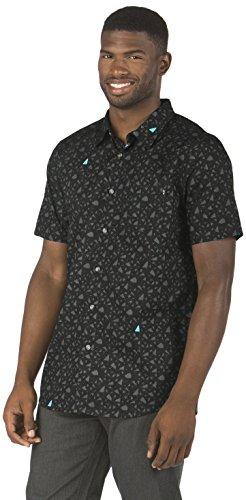 Camicia A Maniche Corte Oakley Print Graphite (S , Grigio)