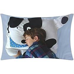 artistic9(TM) Original creativo funda de almohada cute Animal modelado Cafe sofá cojín funda de almohada de niños, D, 30X50cm
