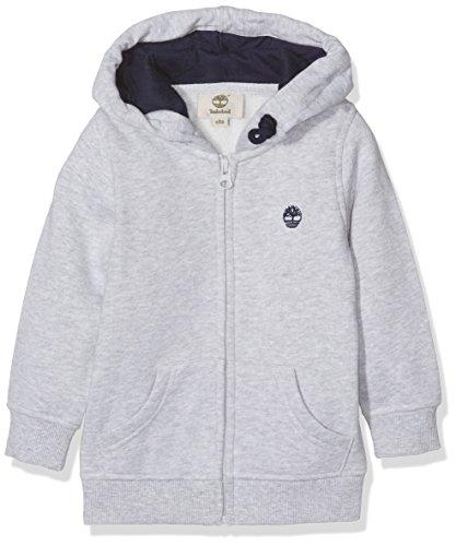 Timberland Jungen Strickjacken Hooded Cardigan, Grey (Chine Grey), 6 Jahre - Cotton Hooded Cardigan