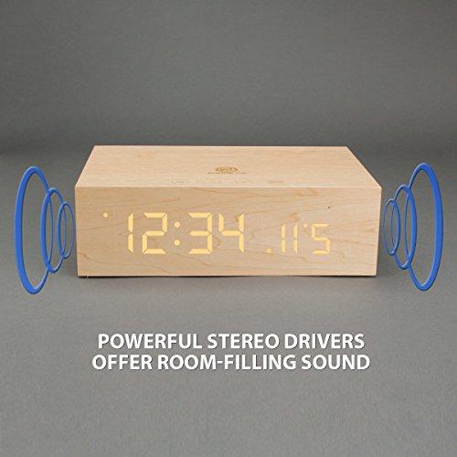 GOgroove Bluetooth Holzwecker - 5