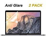 Pellicola salvaschermo in vetro For New MacBook Pro15 Anti-Glare x 2PCS Pack