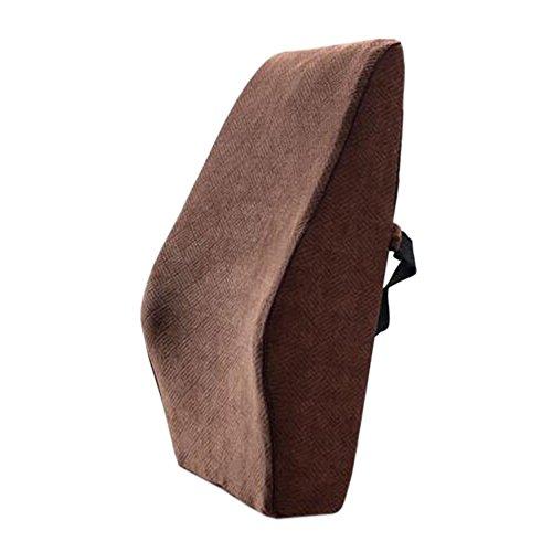 Blancho Coussin de voiture de coussin arrière élégant/soutien de taille de coussin de chaise de bureau #32