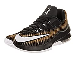 Nike Mens Black & Brown Air Max Infuriate Low Basketball Shoes(852457-003) (UK-7 (US-8))