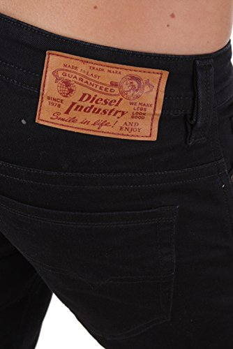 Diesel Thavar 0RF84_STRETCH Herren Jeans Hose Slim Skinny Schwarz