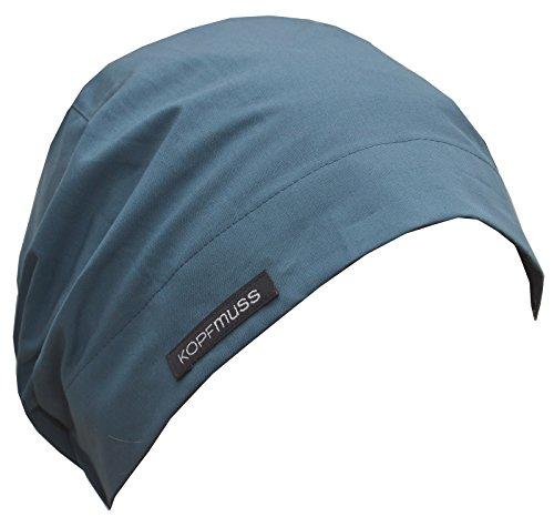 Kopfmuss – Unisex Ungefütterte Wettermütze KoW2116 - M, bergseeblau