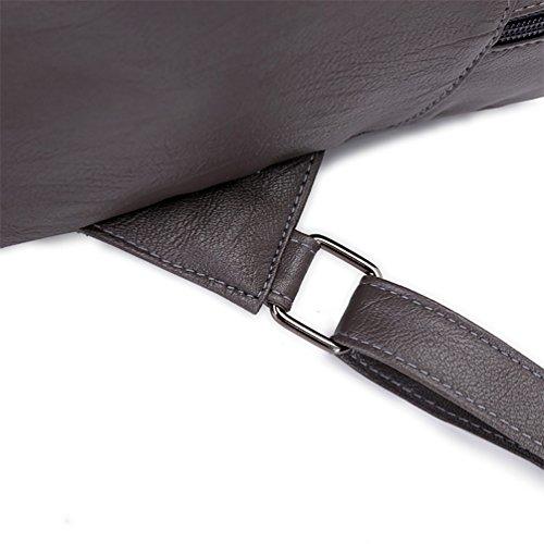Glareshop , Damen Rucksackhandtasche, braun (Braun) - 27FIR15TZ1XF7ZBZ23NETB5 grau
