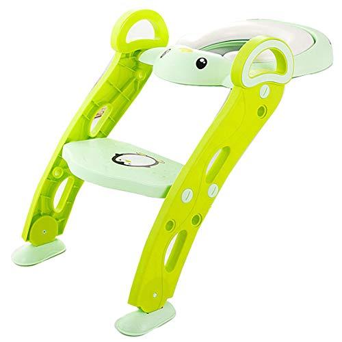 Bright love Bébé Enfants Potty Toilettes Formation siège Bambin Enfants Formateur échelle Pot Chaise,Green