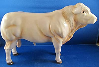 Beswick JBF84 Charolais Bull Ornament
