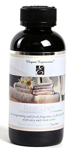 Hosley Highly Fragranced Fresh Linen Oil Bottle
