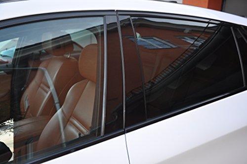 6x Hochglanz schwarz Türzierleisten Verkleidung B Säule Türsäule passend für Ihr Fahrzeug