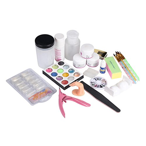 kit de uñas Vovotrade Kit Profesional Completa de para Uñas Acrílicas Decorar Arte Uña Manicura