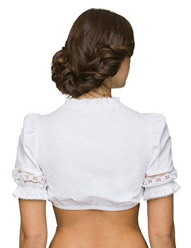 Stockerpoint Damen Trachtenbluse B-7185 Weiß (Weiß)