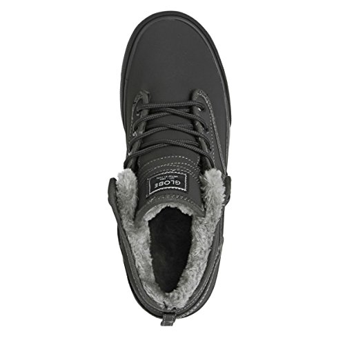 Globe Motley Unisex-Erwachsene Hohe Sneakers charcoal/grey fur
