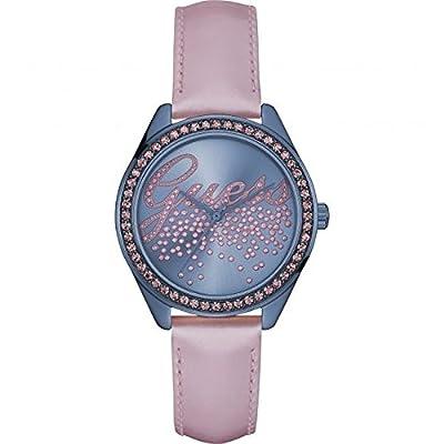 Guess W0161L3 - Reloj de lujo para mujer, color morado / rosa