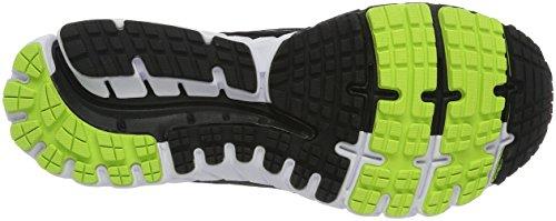 Brooks Herren Ghost 9 Laufschuhe Mehrfarbig (schwarz/grün)