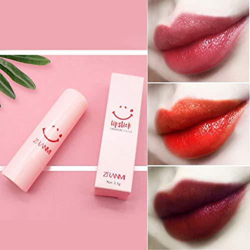 99native Lippenstift, Samt Matte Lipgloss Langer Halt Feuchtigkeitsspendender und Pflegender Lippenstift, Wasserfest, Farbecht Lippenbalsam (H) -