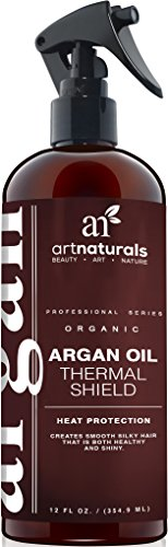 ArtNaturals Hitzeschutzspray Leave In Conditioner - 236 ml - mit Reinem Arganöl - Sulfat-frei
